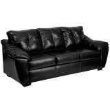 1250 Thomas Black Bonded Leather Sofa [AM-C1253-4111-GG]