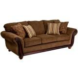 5650 Cornell Chestnut Sofa [AM-C5653-1662-GG]
