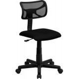 Mid-Back Black Mesh Task Chair [BT-6138-1-BK-GG]