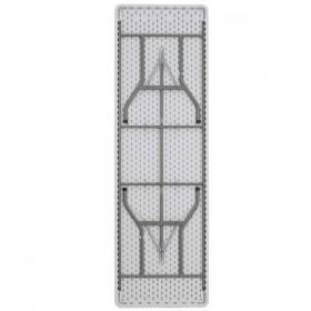 30''W x 96''L Plastic Folding Table [DAD-YCZ-244-GW-GG]