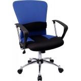 Mid-Back Blue Mesh Office Chair [LF-W23-BLUE-GG]