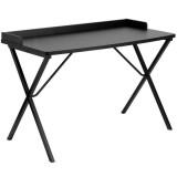 Black Computer Desk [NAN-2140-BK-GG]