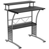 Clifton Black Computer Desk [NAN-CLIFTON-BK-GG]