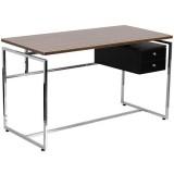 Computer Desk with Two Drawer Pedestal [NAN-JN-2120-GG]