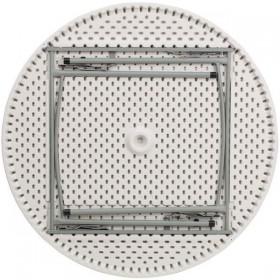 48'' Round Granite White Plastic Folding Table [RB-48R-GG]