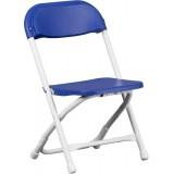 Kids Blue Plastic Folding Chair [Y-KID-BL-GG]